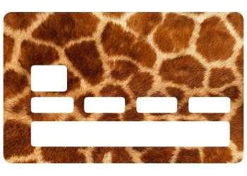 Sticker Fourrure Girafe pour CB