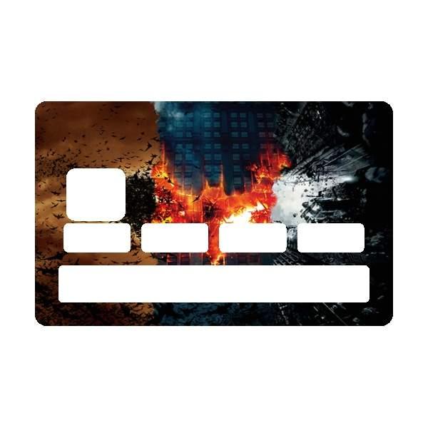 Autocollant carte bancaire batman - Autocollant carte bleue ...
