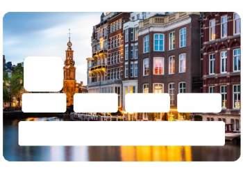 Stickers Amsterdam pour CB