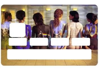 """Stickers """"Pink Floyd"""" pour carte de crédit"""