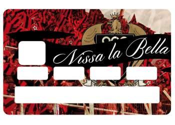 Sticker Nissa la Bella carte bleue