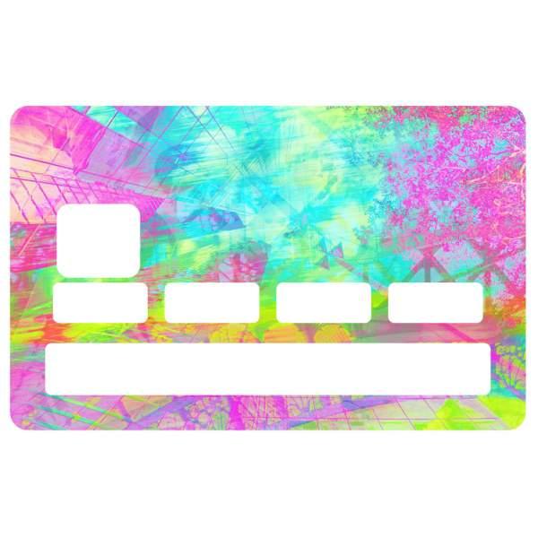 Stickers cb color - Autocollant carte bleue ...
