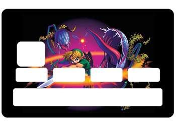 """Autocollant """"Zelda"""" pour CB"""