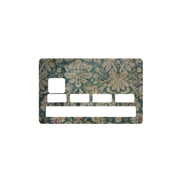 Sticker old paper pour carte bleue - Autocollant carte bleue ...
