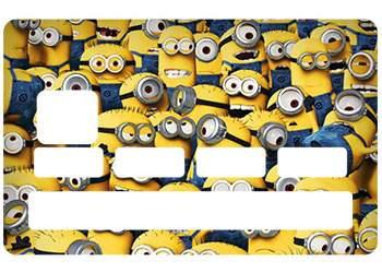 Stickers Les Minions pour CB