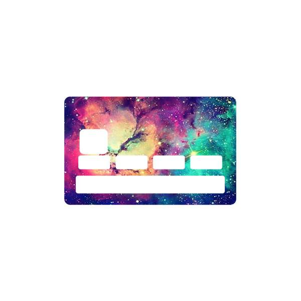 Stickers cb voie lact e - Autocollant carte bleue ...