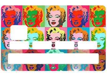 "Stickers CB ""Marylin Monroe"""