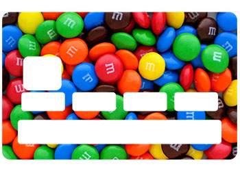 Sticker Bonbons Couleurs pour CB