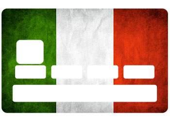 Sticker Drapeau Italie pour CB