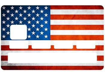 Sticker CB drapeau Etats Unis