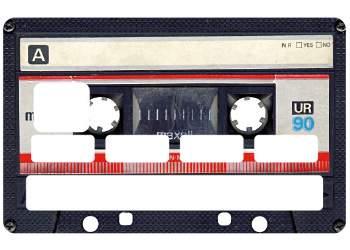 Stickers Cassette carte bleue