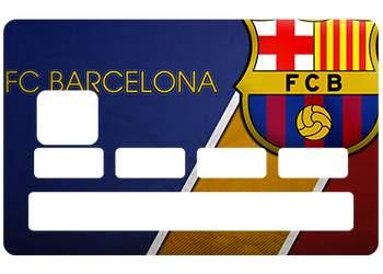 Sticker FC Barcelone pour CB