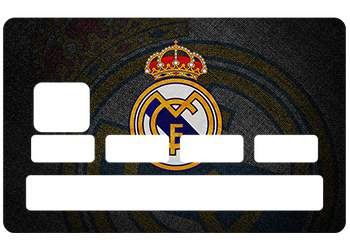 Stickers Real Madrid pour carte bancaire
