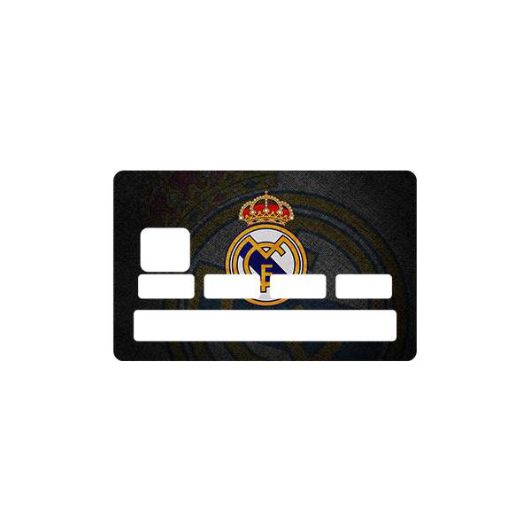 stickers real madrid pour cb. Black Bedroom Furniture Sets. Home Design Ideas