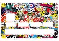 Stickers et autocollant pour carte bancaire cb - Autocollant carte bleue ...