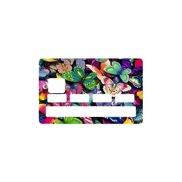 stickers cb papillon pour carte bancaire. Black Bedroom Furniture Sets. Home Design Ideas