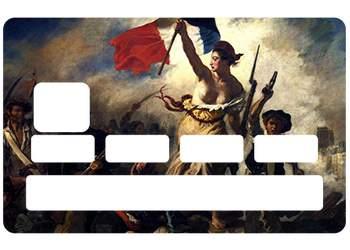 Sticker CB Marianne pour carte bancaire