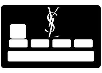 Stickers YSL pour carte bancaire