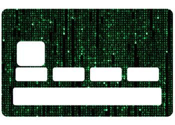 "Sticker ""Matrix"" pour CB"