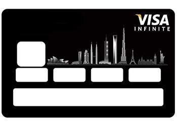 Stickers Infinite carte bancaire