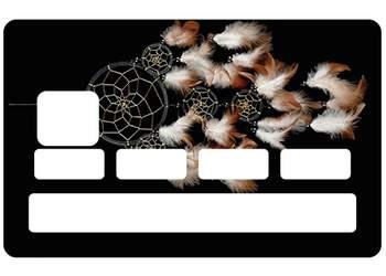 Sticker Attrape Rêves pour carte bancaire