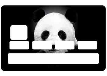 Sticker CB Panda pour carte bancaire