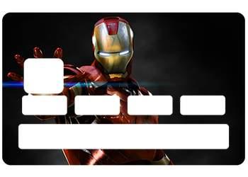 Autocollant Iron Man pour CB