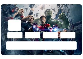 Sticker Avengers pour CB