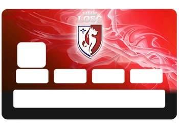 Stickers CB LOSC pour carte bancaire