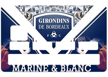 Sticker Bordeaux pour CB