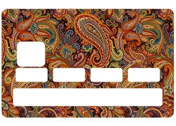 Sticker Cachemire pour carte bancaire