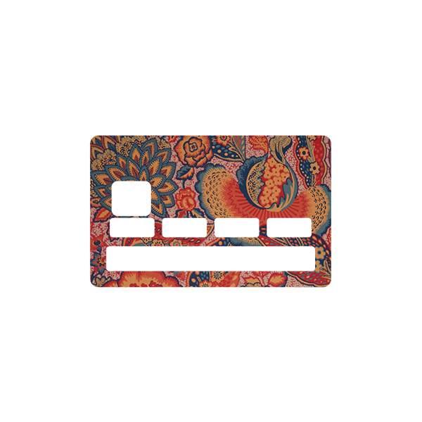 Sticker cb cachemire pour carte bleue - Autocollant carte bleue ...