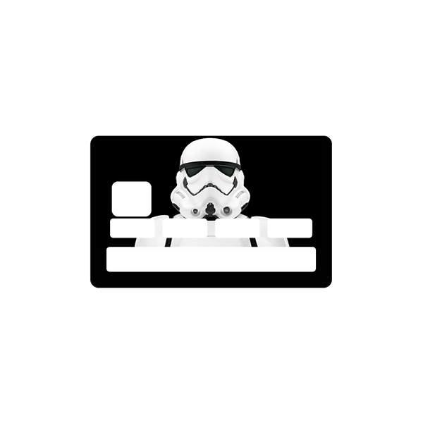 stickers carte bancaire star wars pour carte bleue. Black Bedroom Furniture Sets. Home Design Ideas