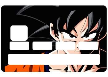 Sticker CB Sangoku pour carte bancaire