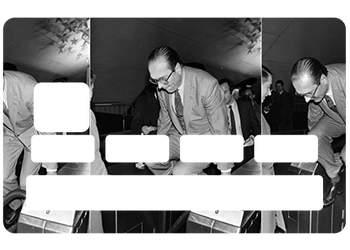 Stickers CB Chirac 2017 pour carte bancaire
