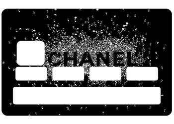 Sticker CB Chanel pour carte bancaire