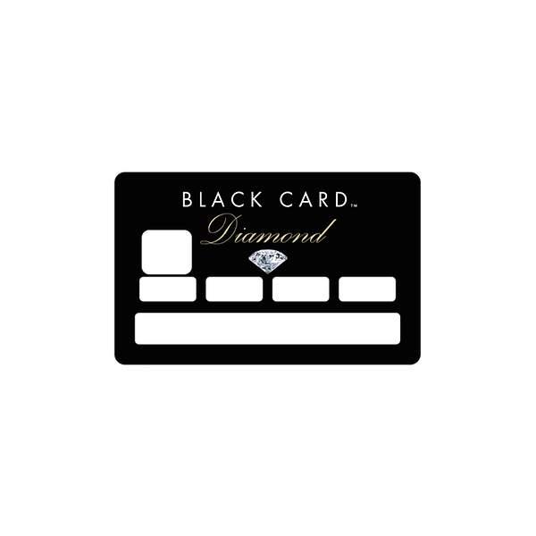 Carte Bancaire Black Diamond.Stickers Cb Picsou Pour Carte Bancaire