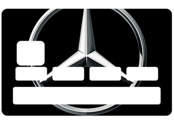 Sticker CB Mercedes pour carte bancaire