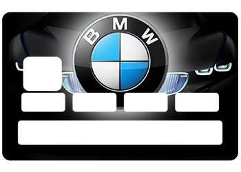 Sticker CB BMW pour carte bancaire