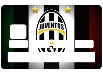 Sticker CB Juventus pour carte bancaire