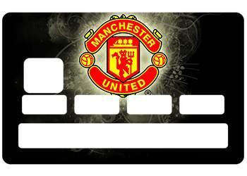 Autocollant CB Manchester United pour carte bleue