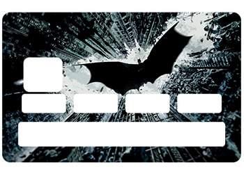Sticker CB Batman DK pour carte bancaire