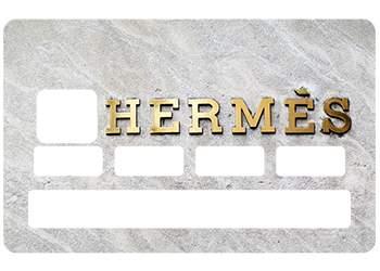 Sticker CB Hermes pour carte bancaire