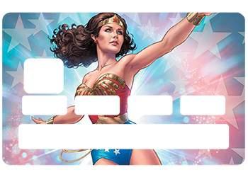 Autocollant Wonder Woman pour CB