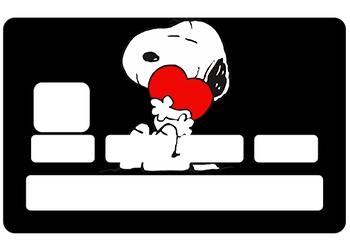 Stickers CB Snoopy pour carte bancaire