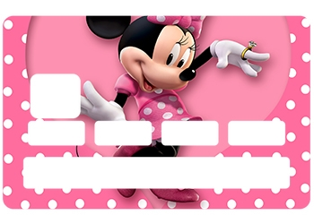 Sticker Minnie pour CB
