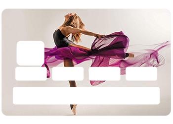 Stickers CB Danse pour carte bancaire