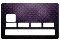 Sticker Fleur de Lys pour carte bancaire