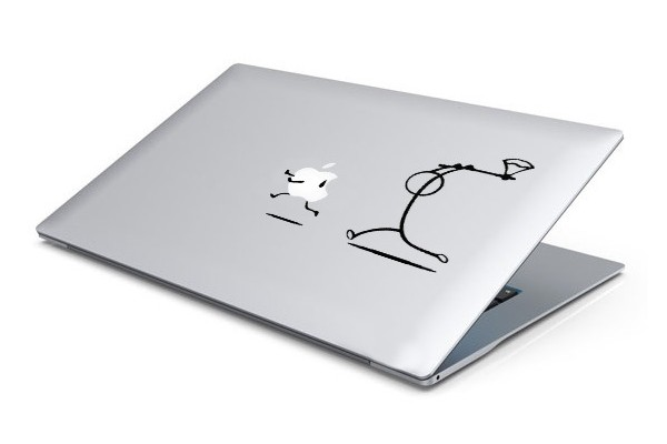 Poursuite Hache MacBook